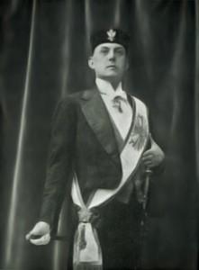 Crowley as Baphomet X°